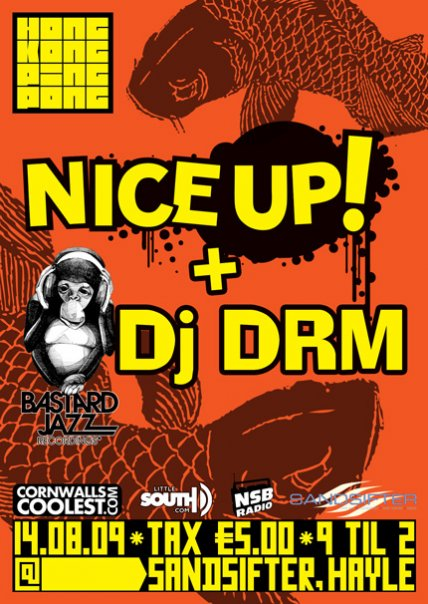 The Hong Kong Ping Pong Club welcomes down NICE UP! and DRM to play at their next little belter of an event, taking place on Friday 14th August.
