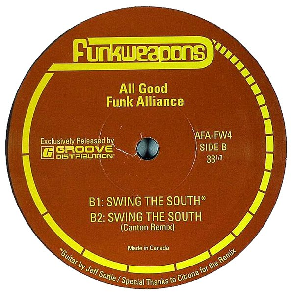 Well, just a couple of days ago we gave you an awesome track by Rus B - one half of All Good Funk Alliance, and now we go the whole hog and give you a free track by the AGFA themselves.
