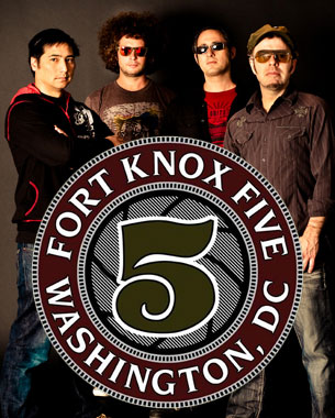 Anyone ever noticed theres only 4 dudes in Fort Knox Five? Anyway, these guys got some serious funk, and they have just dropped number 4 in their Funk The World mix series. Grab it while you can.