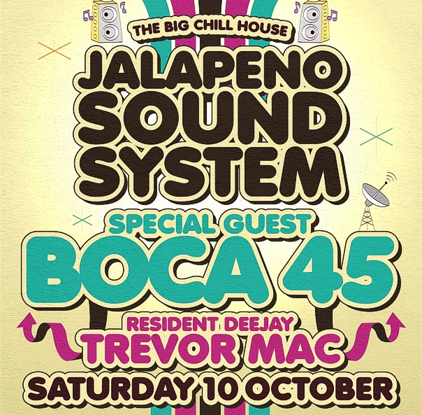 Just a little reminder Boca 45 is playing tonight at The Big Chill House in London tonight for the quality Jalapeno Records monthly (and it's free to get in before 10PM). We also have a 1/2 hour DJ mix from Boca 45 here...